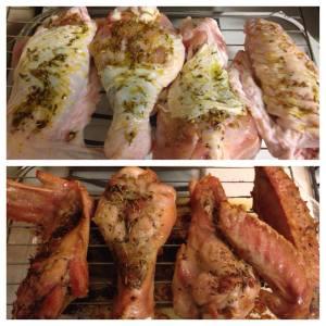 Roast Turkey Legs
